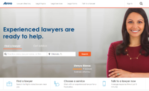 Find Your Attorney on Avvo